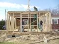 VFC Volunteers building a house during spring break 2012.